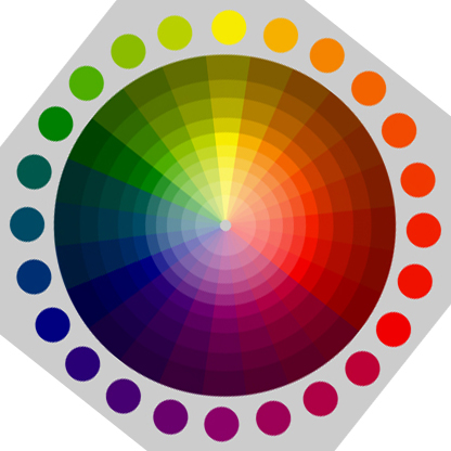 Those are some very, very basic ideas surrounding the colours you see  around you. Now lets look at some examples, so you can appreciate the use  of colour ...